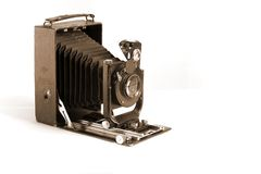 De oude Camera van de Foto Royalty-vrije Stock Foto
