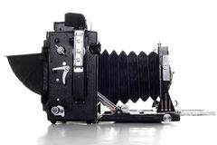 De oude camera van de groot formaatPers royalty-vrije stock afbeeldingen