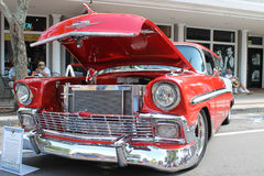 De oude Chevrolet-Nomadeauto bij de auto toont Royalty-vrije Stock Afbeeldingen