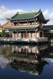 De oude Chinese bouw royalty-vrije stock afbeelding