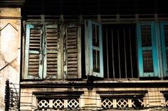 De oude Chinese vensterstijl Royalty-vrije Stock Afbeeldingen