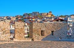 De oude citadel Stock Foto