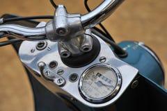 De oude Cockpit van de Rol van de Motor Royalty-vrije Stock Foto's