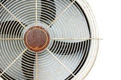 De oude compressor van de ventilatorlucht stock foto's
