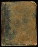 De oude dekking van het leerboek Stock Foto