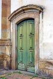 De oude Deur van de Kerk Royalty-vrije Stock Afbeelding