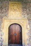 De oude Deur van de Kerk Royalty-vrije Stock Afbeeldingen