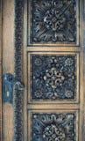 De oude deur van de leeftijd Stock Foto's