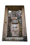 De oude deuren op de Sport van Prasat Phanom Stock Fotografie