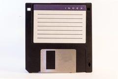 De oude diskette Stock Foto's