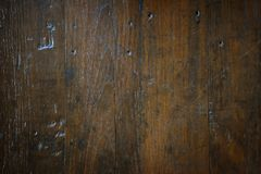 De oude donkere houten achtergrond van de textuuroppervlakte Royalty-vrije Stock Afbeelding