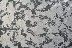 De oude donkere structuur van de pleistermuur grunge Stock Fotografie