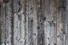 De oude donkergrijze houten achtergrond van de planktextuur Stock Fotografie