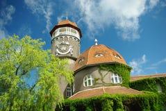 De oude Duits-stijlbouw Royalty-vrije Stock Foto's