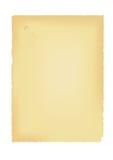 de oude Egyptische papyrus op een witte achtergrond Royalty-vrije Stock Afbeelding