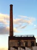 De oude fabrieksindustrie Royalty-vrije Stock Afbeeldingen