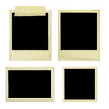 De oude Frames van de Foto (vector) Stock Foto