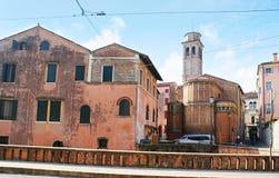 De oude gebouwen Royalty-vrije Stock Afbeeldingen