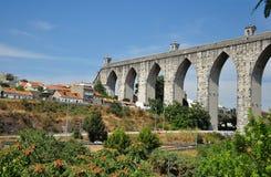 De oude gebouwen van Lissabon Royalty-vrije Stock Foto