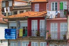 De oude gebouwen van Porto royalty-vrije stock afbeeldingen
