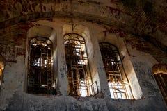 De Oude Gelovigekathedraal van de Bescherming van de Vergine Santa in Borovsk, Rusland stock foto