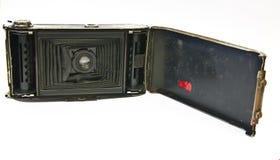 De oude geopende camera Stock Foto