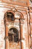 De oude geruïneerde bouw royalty-vrije stock foto