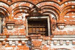 De oude geruïneerde bouw royalty-vrije stock fotografie