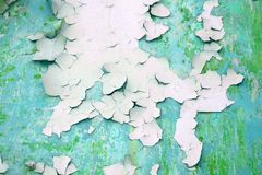 De oude geschilderde muur van de de oppervlaktetextuur van de oppervlaktegipspleister stock foto
