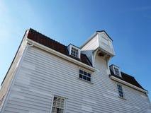 De Oude Getijdenmolen, Woodbridge, Engeland stock foto's