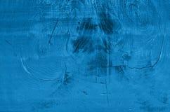 De oude geweven Raad, schilderde in blauwe schaduwen Royalty-vrije Stock Foto's