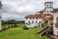 De oude Goa-bouw van de kerkbibliotheek Royalty-vrije Stock Fotografie