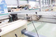 De oude grensschakelaar in pneumatische systemen Macht en hydraulica Royalty-vrije Stock Foto's