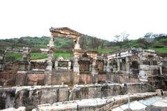 De ruïnes Turkije van Ephesus Stock Afbeelding