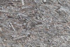 De oude grijze doorstane textuur van het vernisjetriplex royalty-vrije stock fotografie
