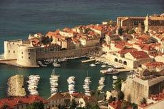 De oude Haven in Dubrovnik Royalty-vrije Stock Fotografie