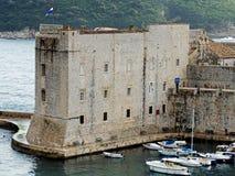 De oude haven van Dubrovnik Stock Fotografie