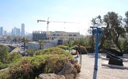 De oude haven van Jaffa, Tel Aviv, Israël royalty-vrije stock afbeeldingen
