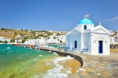 De oude haven van Mykonos Royalty-vrije Stock Foto