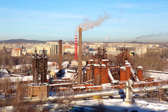 De oude het Ijzer en het Staalwerken van Demidovsky Nizhny Tagil Nu het fabriek-museum na Kuibyshev wordt genoemd die Nizhny Tagi Stock Afbeelding