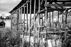 De oude het uitspreiden zich dorpsbouw stock fotografie