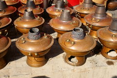 De oude hete pot van Peking Stock Foto