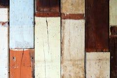 De oude houten achtergrond van de omheiningstextuur Royalty-vrije Stock Fotografie