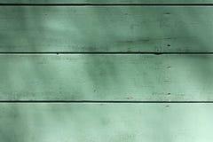 De oude houten achtergrond van de plank groene textuur Royalty-vrije Stock Afbeelding