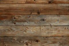 De oude houten achtergrond van de schuurmuur Royalty-vrije Stock Foto's
