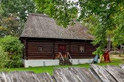 De oude houten bouw Royalty-vrije Stock Foto
