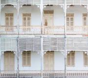 De oude houten bouw Royalty-vrije Stock Fotografie