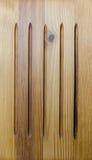 De oude houten bruine achtergrond Royalty-vrije Stock Foto's
