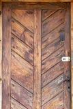 De oude houten deur - grunge achtergrondtextuur voor ontwerp stock fotografie