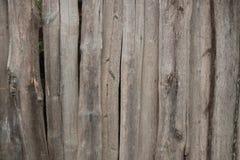 De oude houten omheining royalty-vrije stock fotografie